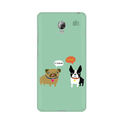 Cute Dog Buddies Lenovo Vibe P1 Phone Cover