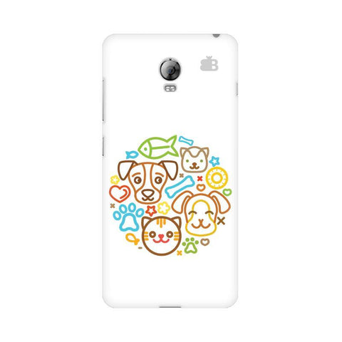 Cute Pets Lenovo Vibe P1 Phone Cover