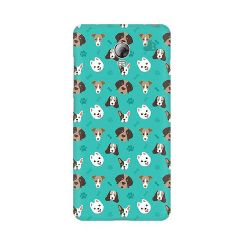Doggie Pattern Lenovo Vibe P1 Phone Cover