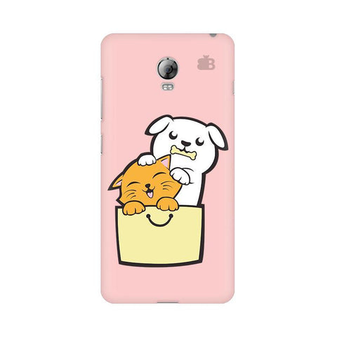 Kitty Puppy Buddies Lenovo Vibe P1 Phone Cover