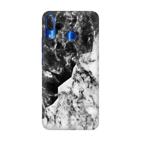Black White Marble Lenovo Z5 Cover