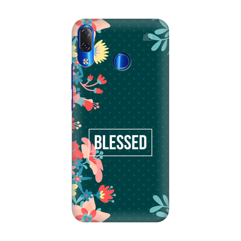 Blessed Floral Lenovo Z5 Cover