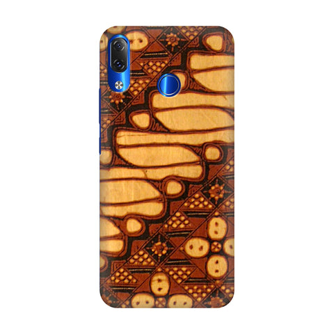 Brown Batik Lenovo Z5 Cover