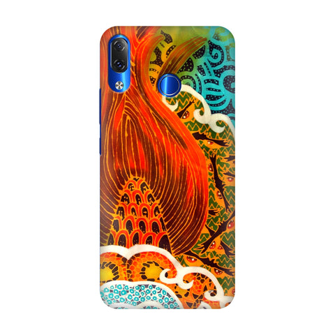 Colorful Batik Art Lenovo Z5 Cover