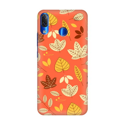 Cute Leaves Pattern Lenovo Z5 Cover
