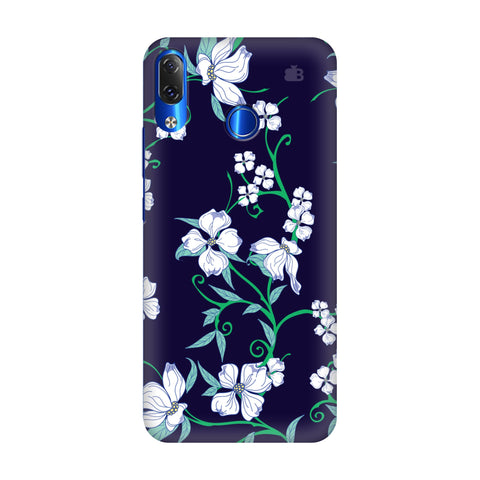 Dogwood Floral Pattern Lenovo Z5 Cover