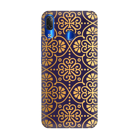 Gold Ornament Lenovo Z5 Cover