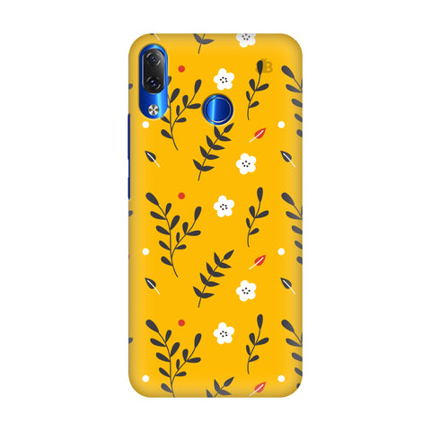 Summer Floral Pattern Lenovo Z5 Cover