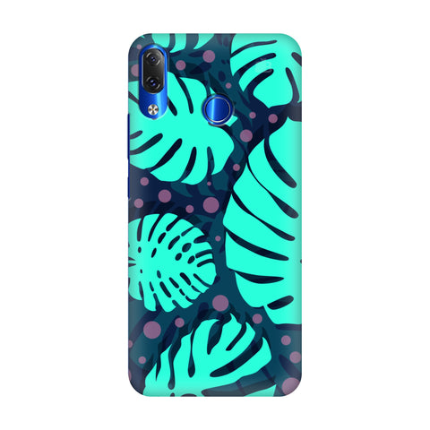 Tropical Leaves Pattern Lenovo Z5 Cover
