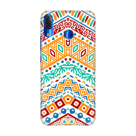 Wavy Ethnic Art Lenovo Z5 Cover