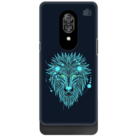 Abstract Art Lion Lenovo Z5 Pro Cover