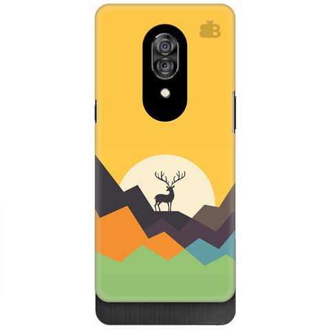 Deer in Mountains Lenovo Z5 Pro Cover