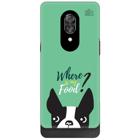 Where is my Food Lenovo Z5 Pro Cover