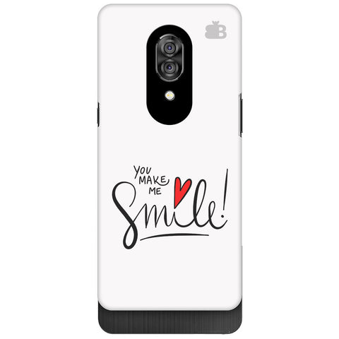 You make me Smile Lenovo Z5 Pro Cover