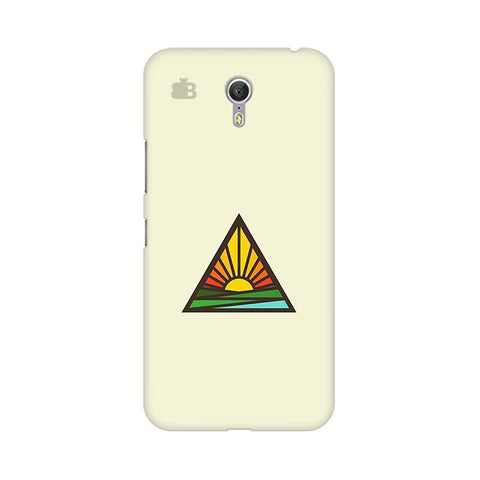 Triangular Sun Lenovo Zuk Z1 Phone Cover