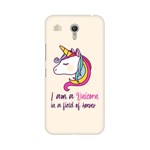 Unicorn in Horses Lenovo Zuk Z1 Phone Cover