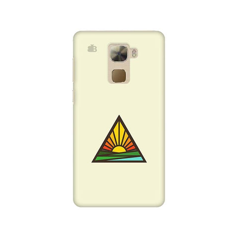 Triangular Sun Letv 3s Pro Phone Cover