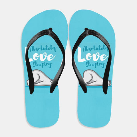 Love Sleeping Flip Flop