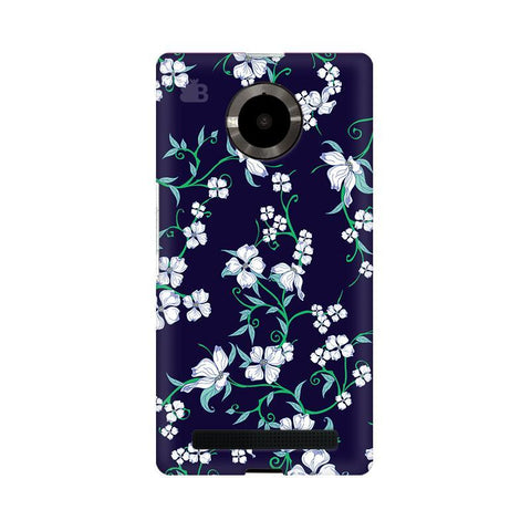 Dogwood Floral Pattern Micromax YU Yuphoria Phone Cover