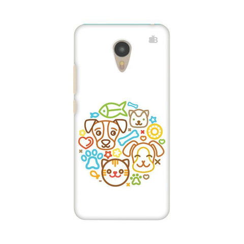 Cute Pets Micromax Yu Yunicorn Phone Cover