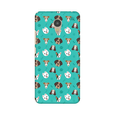 Doggie Pattern Micromax Yu Yunicorn Phone Cover