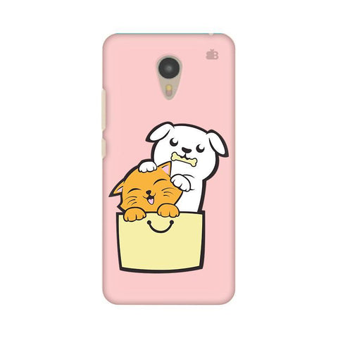 Kitty Puppy Buddies Micromax Yu Yunicorn Phone Cover