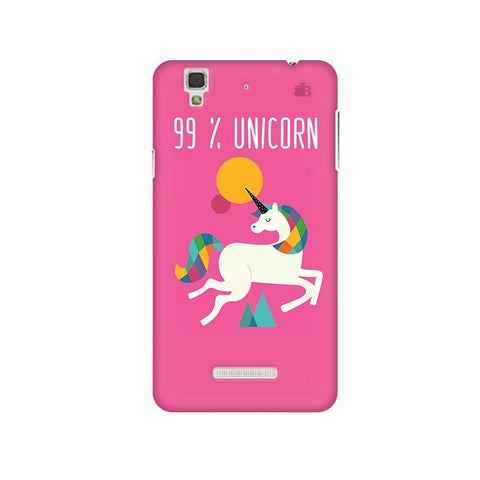 99% unicorn Micromax Yu Yureka Plus Phone Cover