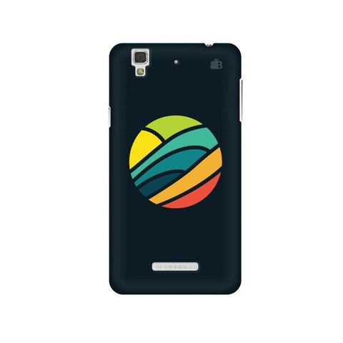 Abstract Circle Micromax Yu Yureka Plus Phone Cover