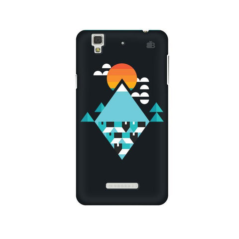 Abstract Mountains Micromax Yu Yureka Plus Phone Cover