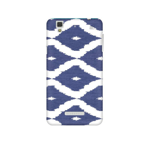Blue Ikat Micromax Yu Yureka Plus Phone Cover