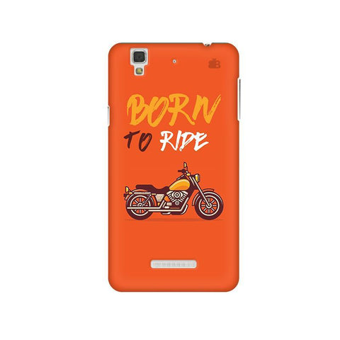 Born to Ride Micromax Yu Yureka Plus Phone Cover