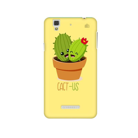 Cact-Us Micromax Yu Yureka Plus Phone Cover