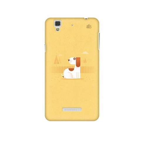 Calm Dog Micromax Yu Yureka Plus Phone Cover