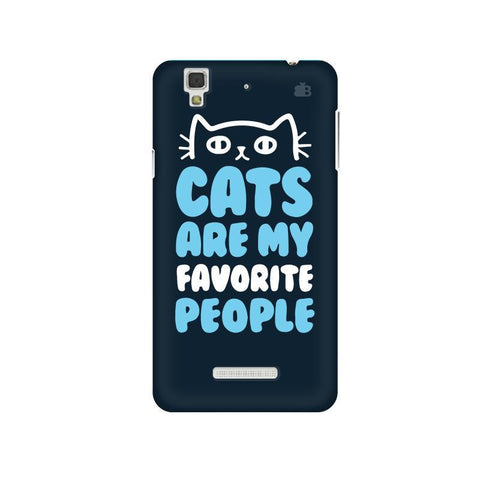 Cats favorite People Micromax Yu Yureka Plus Phone Cover