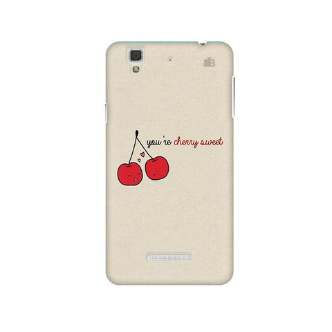 Cherry Sweet Micromax Yu Yureka Plus Phone Cover