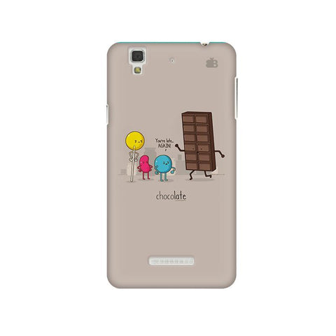 Choco late Micromax Yu Yureka Plus Phone Cover