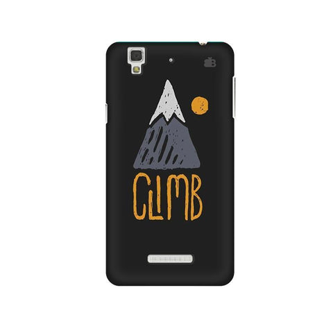 Climb Micromax Yu Yureka Plus Phone Cover