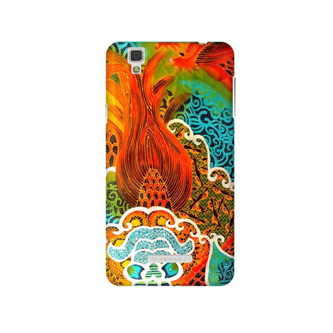 Colorful Batik Art Micromax Yu Yureka Plus Phone Cover