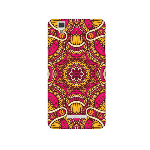 Colorful Ethnic Art Micromax Yu Yureka Plus Phone Cover