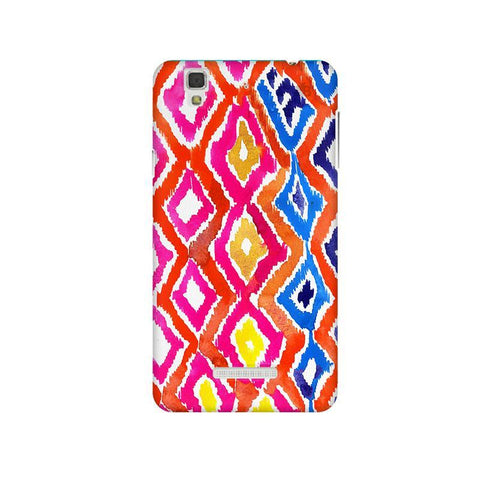 Colorful Ikat Micromax Yu Yureka Plus Phone Cover