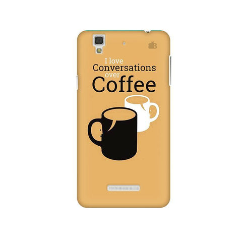 Convos over Coffee Micromax Yu Yureka Plus Phone Cover