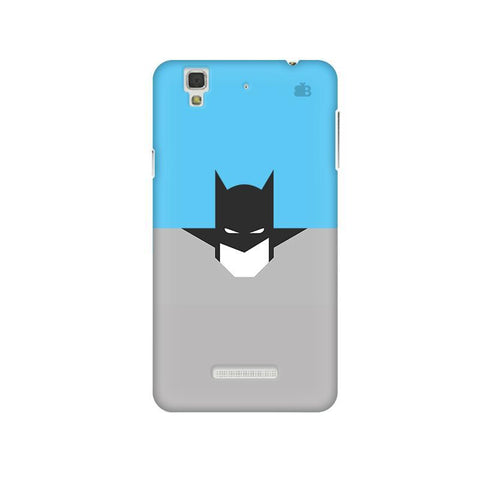 Cracked Maskman Micromax Yu Yureka Plus Phone Cover