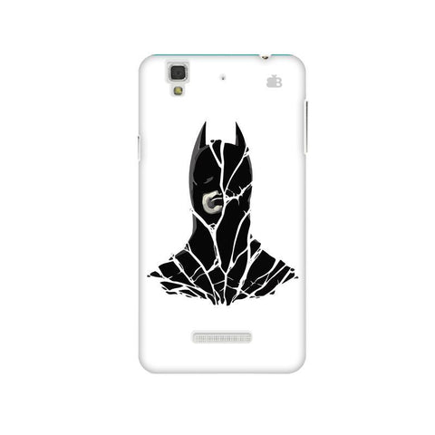 Cracked Superhero Micromax Yu Yureka Plus Phone Cover