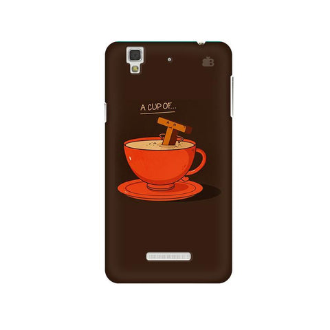 Cup of Tea Micromax Yu Yureka Plus Phone Cover