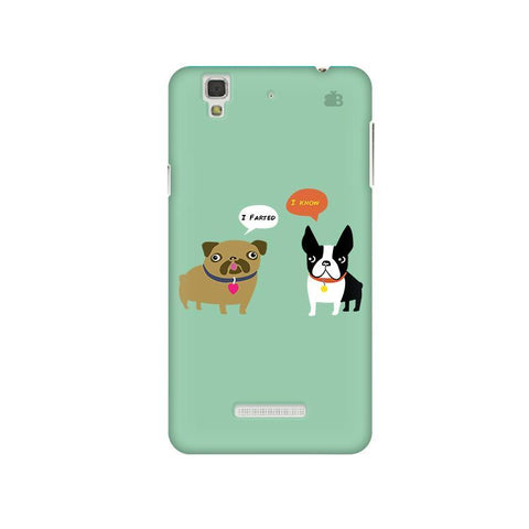 Cute Dog Buddies Micromax Yu Yureka Plus Phone Cover