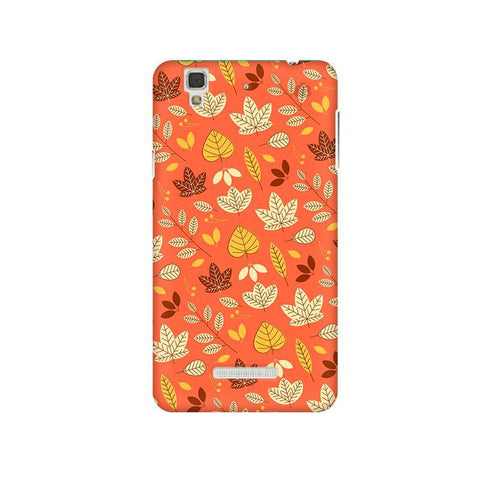 Cute Leaves Pattern Micromax Yu Yureka Plus Phone Cover