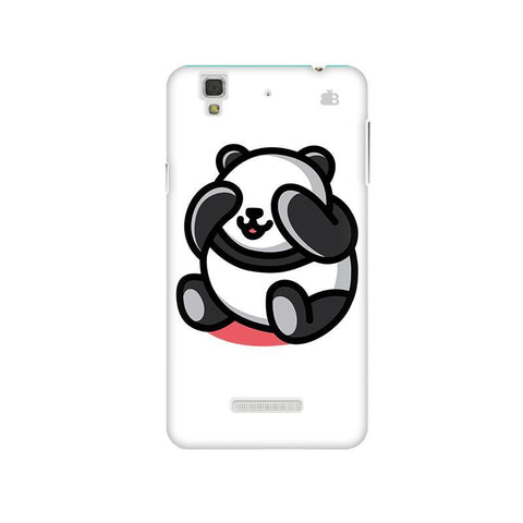 Cute Panda Micromax Yu Yureka Plus Phone Cover