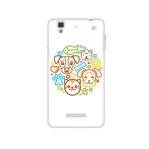 Cute Pets Micromax Yu Yureka Plus Phone Cover