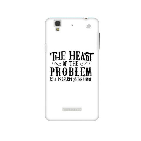 Problem of the Heart Micromax Yu Yureka Plus Phone Cover