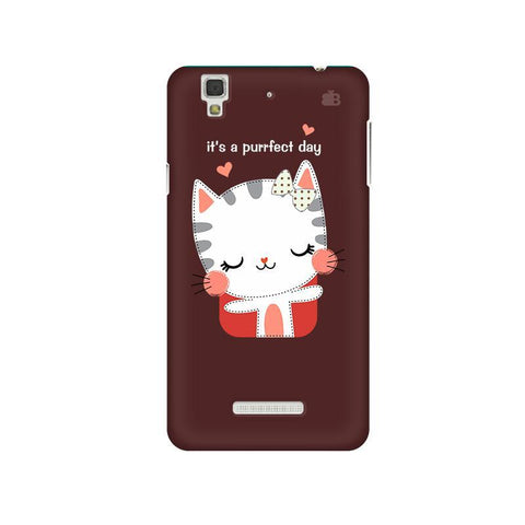 Purrfect Day Micromax Yu Yureka Plus Phone Cover